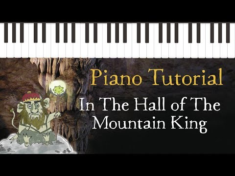 In the Hall of the Mountain King - Easy Piano Tutorial - Hoffman Academy