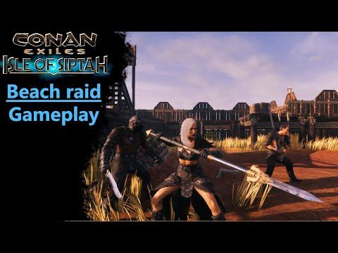 Beach Raid   Isle of Siptah   Gameplay part 1  