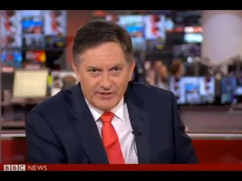 BBC Presenter Goes Viral For His Disdain For Dumb Story