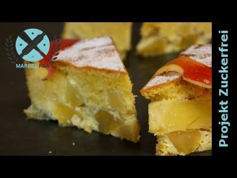 Fluffiger Apfelkuchen Ohne Zucker Und Glutenfrei Projektzuckerfrei