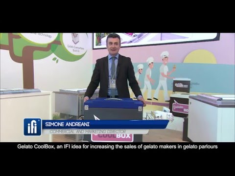 Simone Andreani IFI Commercial and Marketing Director about GelatoCoolBox
