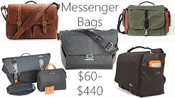 Messenger Bag Review: Everyday Messenger, Ona Brixton, Domke Herald, LowePro Urban Reporter, 24/7