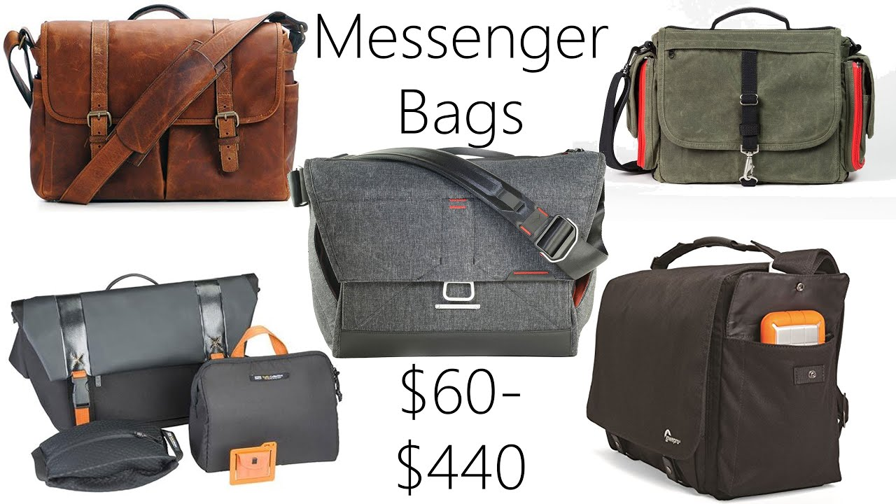 Messenger Bag Review: Everyday Messenger, Ona Brixton, Domke ...