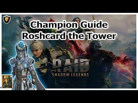 RAID Shadow Legends   Champion Guide   Roshcard the Tower