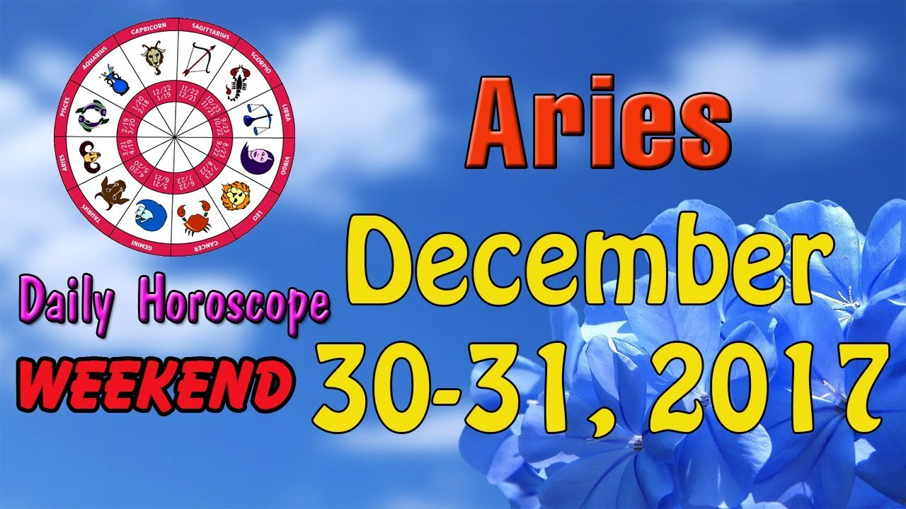 december 30 aries daily horoscope