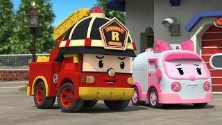 Робокар Поли - Новые серии - Рой и пожарная безопасность - Мультики про машинки