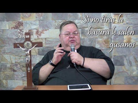 Monseñor Roberto Sipols -  Si no tiras la basura le salen gusanos