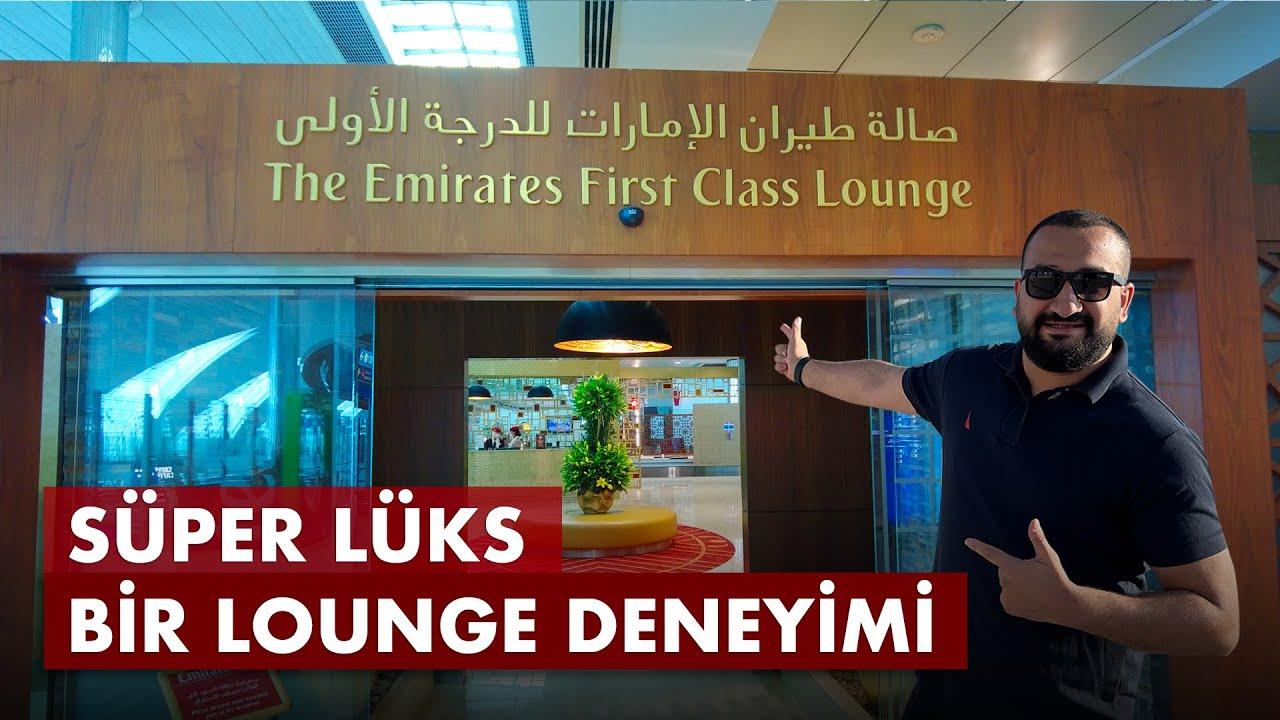 Emirates First Class Lounge - Dubai Airport