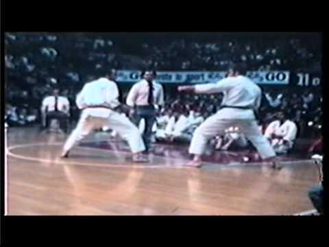 Shotokan European Championships Milano 1976 with SvenOle Thorsen