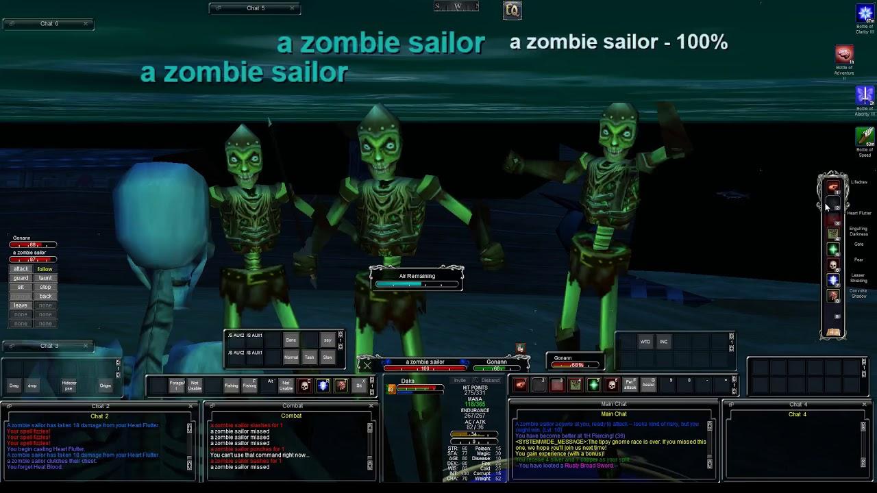Mangler TLP - Classic EQ Leveling guide 1-15 Necromancer Solo