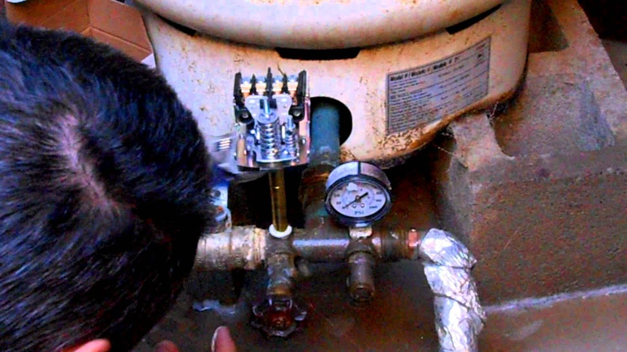 hight resolution of replacing a well pressure switch re pressurizing the tank to avoid short cycling youtube