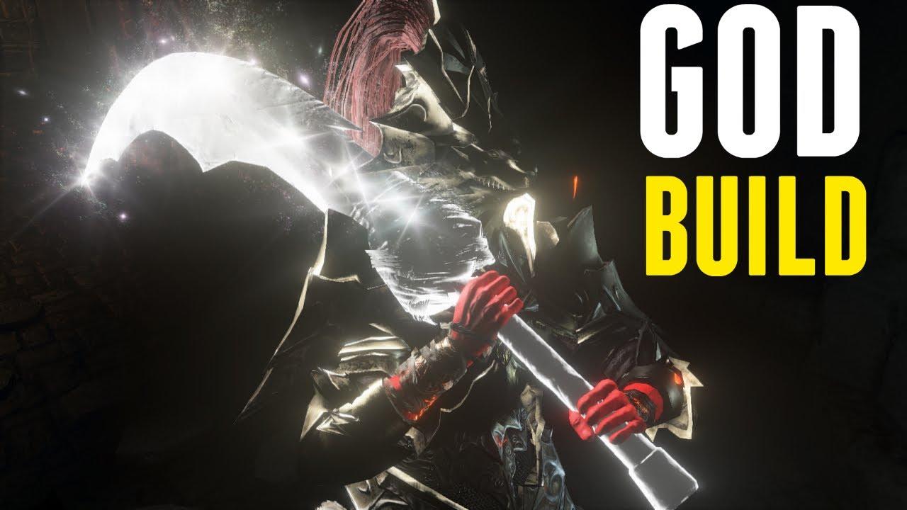 Dark Souls 3 - God Build - Strength and Faith Hybrid Build and PvP