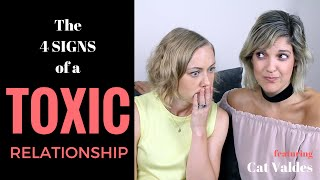 THE 4 SIGNS of a TOXIC RELATIONSHIP   Kati Morton & Cat Valdes treatment divorce marriage advice
