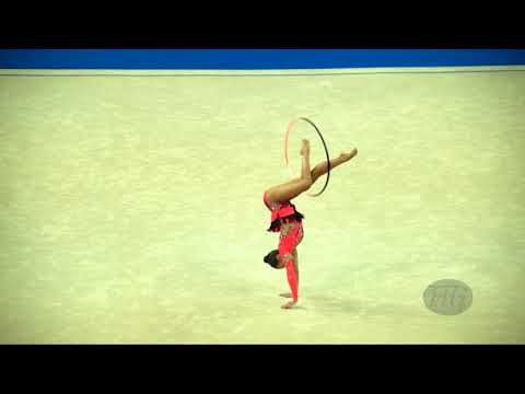 FILIORIANU Ana Luiza (ROU) - 2017 Rhythmic Worlds, Pesaro (ITA) - Qualifications Hoop