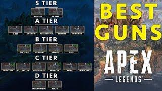 Apex Legends Best Guns Tier List + ALL Weapons Explained