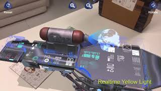 Holographic Machine in AR - Augmented Reality