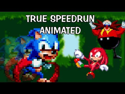 Sonic 3 TRUE legit speedrun animated in 6:20