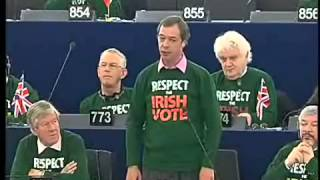 Respect the Irish Vote  Aftershock in European Parliament