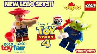 New Toy Story 4 LEGO Sets at New York Toy Fair 2019 Toy Story Duplo Biggest Toys Hunt Tubey Toys