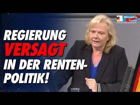 Regierung versagt in der Rentenpolitik! - Ulrike Schielke-Ziesing - AfD-Fraktion im Bundestag