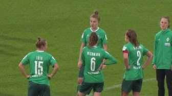 So lief das Spiel der Werder-Frauen gegen den SC Sand