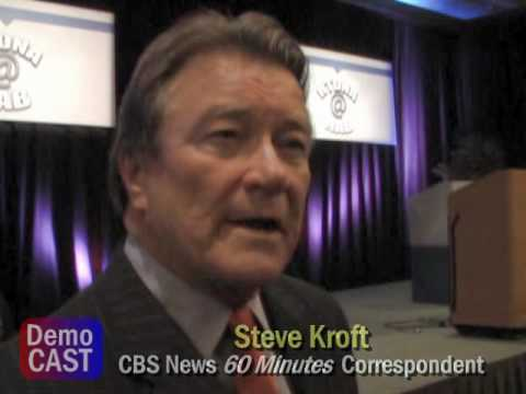 """CBS """"60 Minutes"""" Steve Kroft comments on the state of cable news networks"""