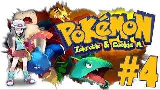 Pokemon FireRed CO-OP #4 - Pierwsza Odznaka! Nasze pokemony ewoluują?