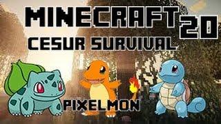 Minecraft CESUR Survival - Enes ve Yiğit - Bölüm 20 - Pixelmon