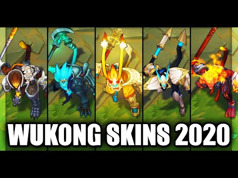All Wukong Skins Final Rework 2020 (League of Legends)