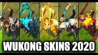 All Wukong Skins Final Rework 2020 (League of Legends)