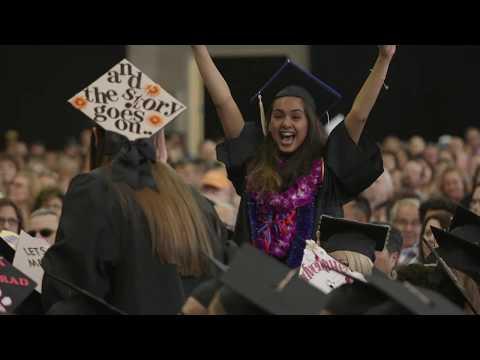 Fresno State Graduation Highlights 2017