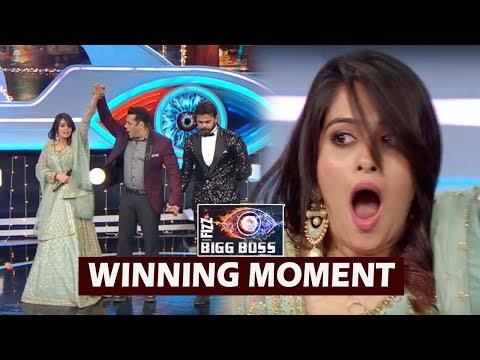 Dipika Kakar WINNING Moments On Bigg Boss 12 Grand Finale   Colors TV