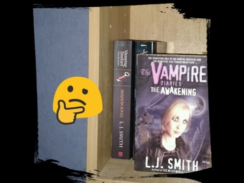 Book Series I Won't Be Finishing - The Vampire Diaries by L.J. Smith