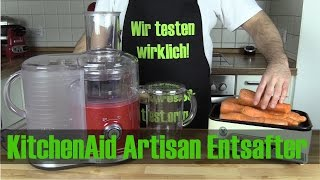 KitchenAid Artisan Entsafter im Test