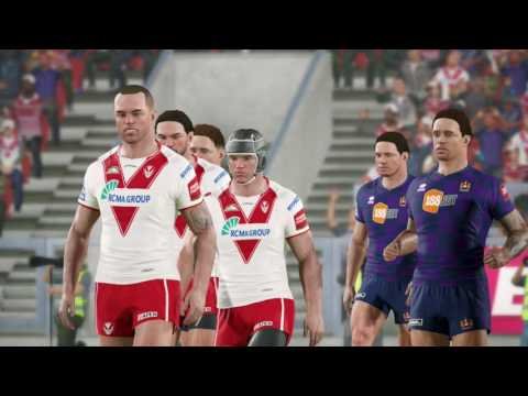 Rugby League Live 4 - UK Exclusive - Wigan Warriors Vs. St Helens