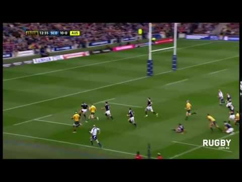 Hodge slices through for top team try