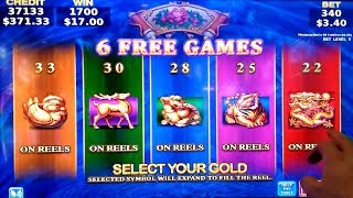 ★GREAT SEASSION★ KONAMI Slot WEALTH of DYNASTY Max Bet BONUSES Won | Live Slot PLay w/NG Slot
