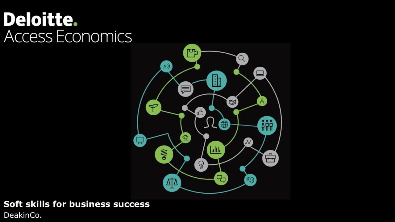 DeakinCo  Soft skills for business success - Presentation