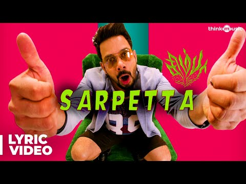 Simba Songs | Sarpetta Song with Lyrics | Bharath, Premgi | Vishal Chandrashekhar