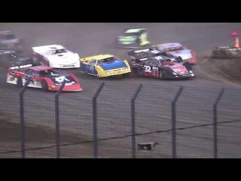 IMCA Late Model Heat 1 Davenport Speedway 9/21/18