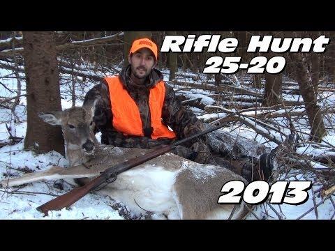25-20 WCF Rifle Deer Hunt 2013 Winchester Model 1892