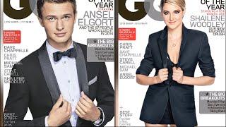 Shailene Woodley Vs. Ansel Elgort: Best GQ Magazine Cover?!