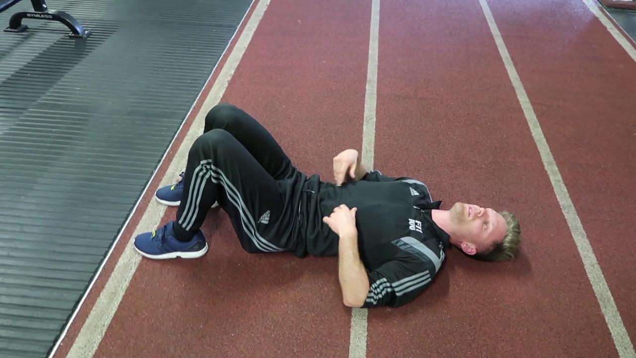 Side Lying Straight Leg Raise - Glute Medius Strengthening Exercise