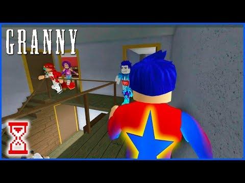 Серия слаженных субботних игр   Roblox Granny