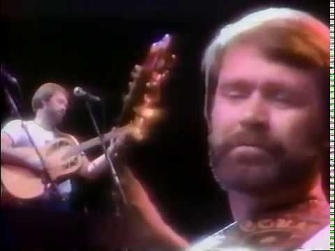 Gentle On My Mind - Glen Campbell with Willie Nelson and band (great guitar solo)