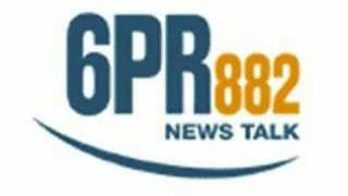 Woosha on 6PR Monday 23rd June 2008