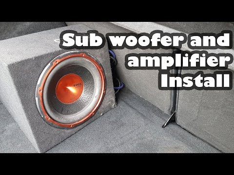 How to: Install a Subwoofer