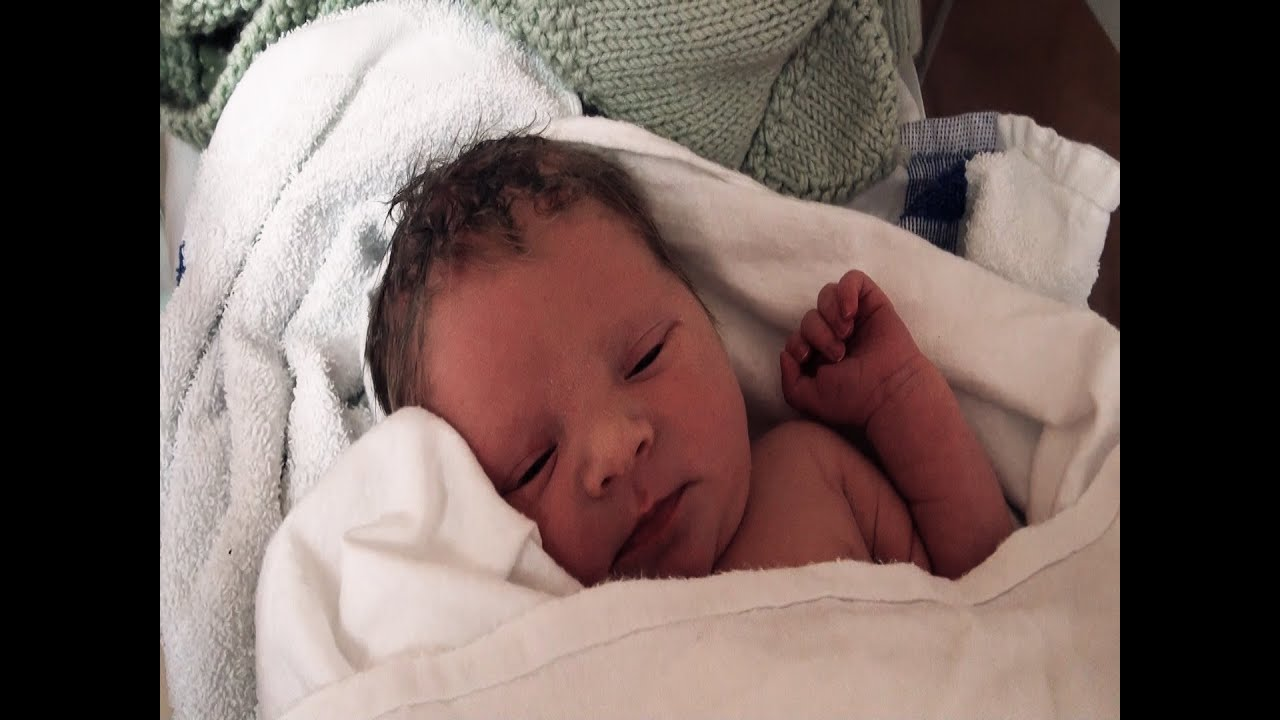 birth of a newborn baby girl and a new sister for josh - youtube