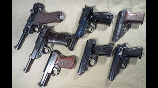 Rusty old WWII GUNS found WW2Metal detecting Germany