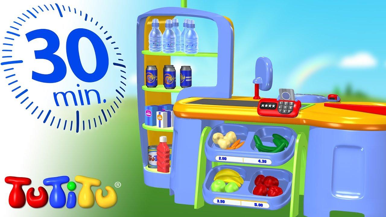 טוטיטו בעברית ברצף | צעצועי סופרמרקט | צעצועים הכי טובים לפעוטות | חצי שעה של הנאה HD